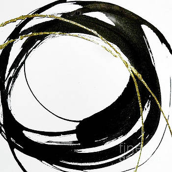Gilded Enso 4 by Chris Paschke