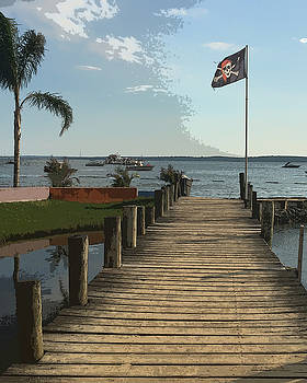 Gilligans Pier by Christopher Kerby