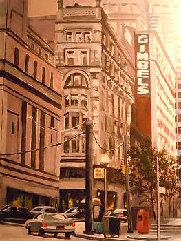 Gimbels In Pittsburgh by James Guentner