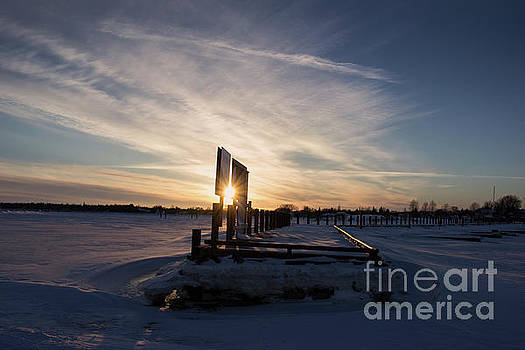 Gimli Harbour Sunset by Francis Lavigne-Theriault