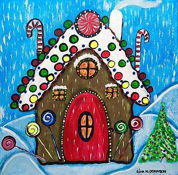 Gina Nicolae Johnson - Ginger bread house