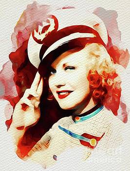 John Springfield - Ginger Rogers, Vintage Movie Star