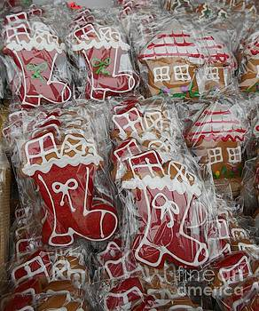 Gingerbread With Sugar Glazing For Christmas by Erika H