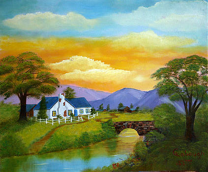 Ginnys Cottage by Arno Clabaugh