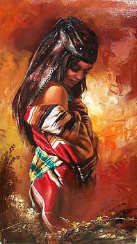 Gipsy Girl by Alim Adilov