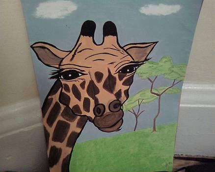 Giraffe 1 by Dorine Coello