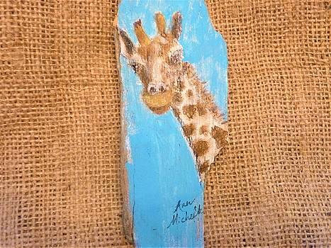 Giraffe  by Ann Michelle Swadener