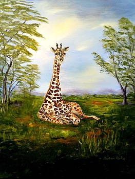 Giraffe by Barbara Pirkle
