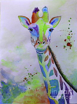 Giraffe by Barbara Teller
