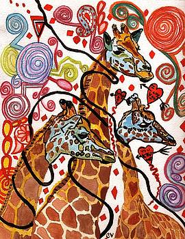 Giraffe Birthday Party by Connie Valasco