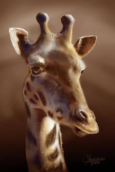 Giraffe by Cesar Guerrero