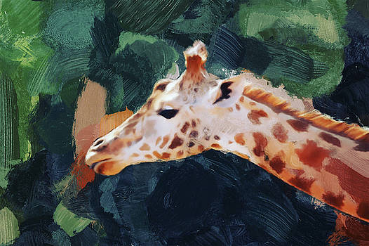 Giraffe by Gillian Dernie