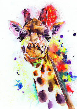 Giraffe by Isabel Salvador