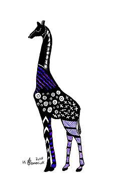 Giraffe by Kayleigh Semeniuk