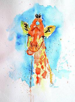 Giraffe by Lynda Cookson