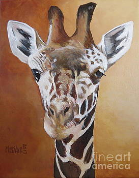Giraffe by Marilyn McNish