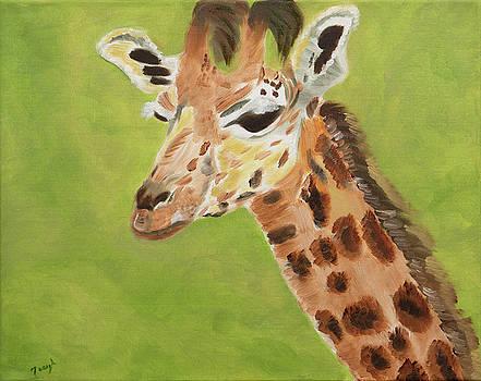 Portrait of a Giraffe by Meryl Goudey