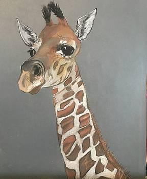 Giraffe  by Peggy Paulson