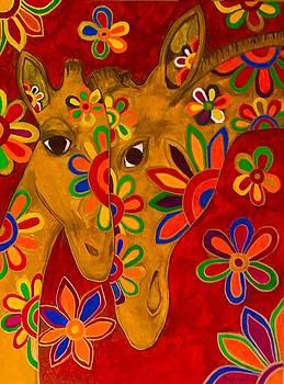 Giraffes by Emeka Okoro