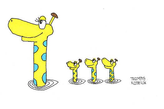 Thomas Olsen - Giraffes gone swimming