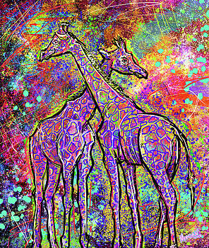 Giraffes  by Morgan Richardson