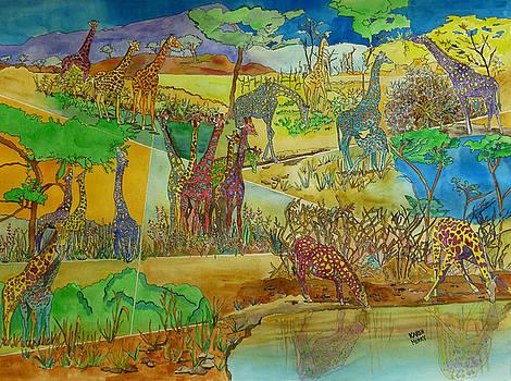 Giraffi by Karen Merry