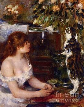 Renoir - Girl and Cat