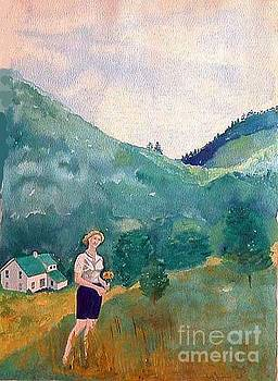 Girl at Murray Hollow by Fred Jinkins