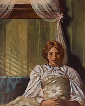 Girl by the window by Rick Nederlof