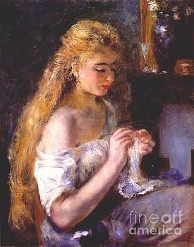 Renoir - Girl Crocheting