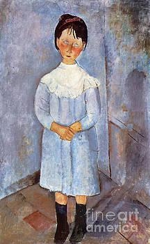Amedeo Modigliani - Girl in Blue, 1918