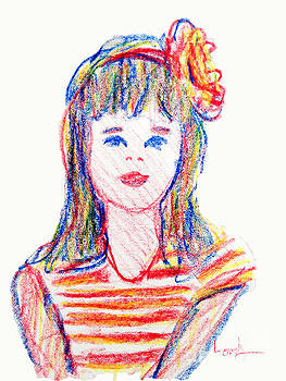 Candace Lovely - Girl in Crayons