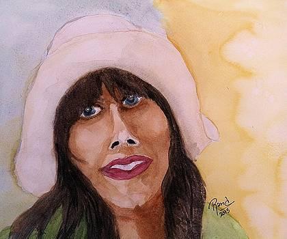 Girl In Hat by Rand Swift