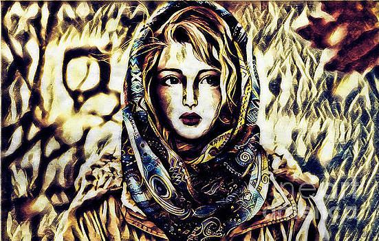Girl in Hijab by Lita Kelley