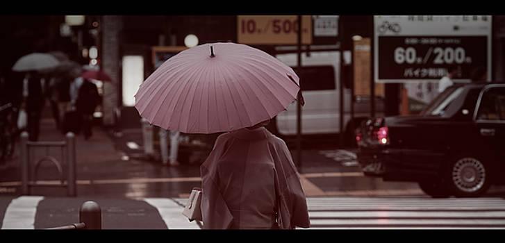 Girl in Kimono by David Harding
