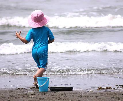 Barbara  White - Girl in Pink Hat