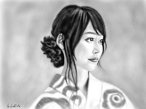 Kimono girl No.11 by Yoshiyuki Uchida