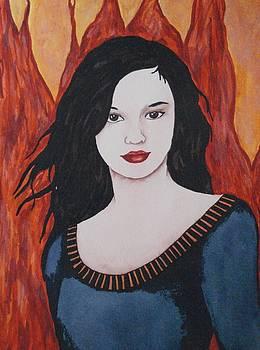 Girl of Fire by Ally Mueller