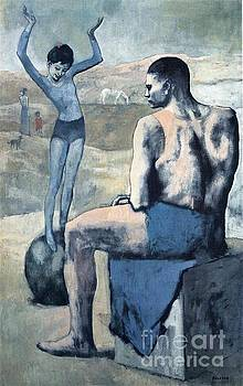 Picasso - Girl On A Ball