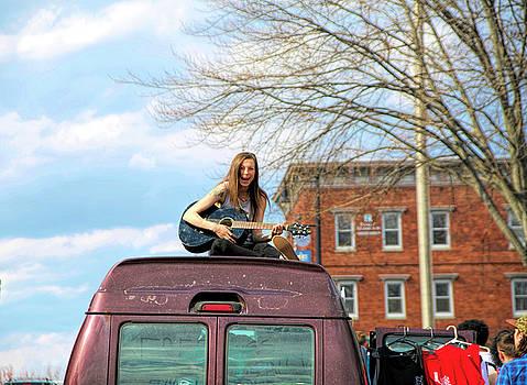 Girl on a Van by Randi Shenkman