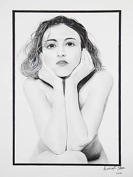 Girl Posing by Raymond Potts