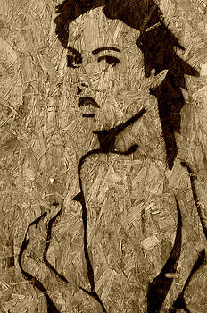 Girl Trapped in Wood by Jon Benson