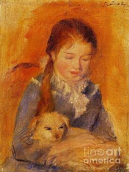 Renoir - Girl With a Dog
