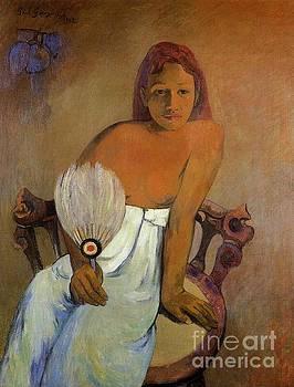 Gauguin - Girl With A Fan
