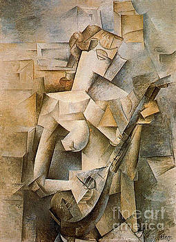 Picasso - Girl With A Mandolin