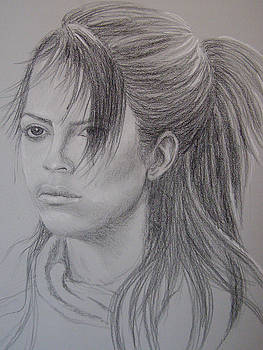 Girl with Attitude by Lynn Quinn