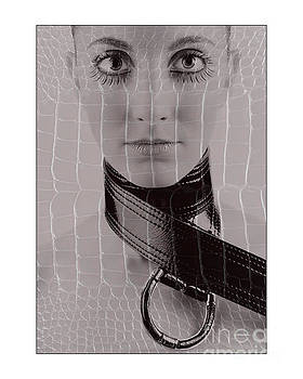 Girl with big eyes by Michael Edwards