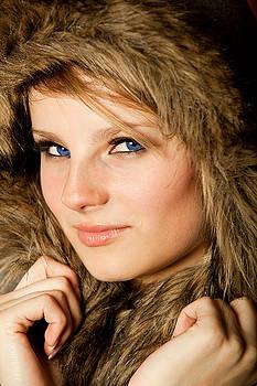 Girl with blue eyes by Walt Stoneburner