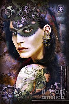 Kathy Kelly - Girl with Dragon Tattoo