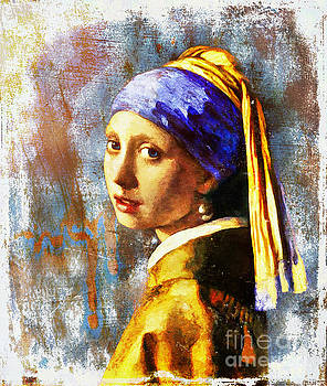 Girl With The Pearl Earring by Tina LeCour